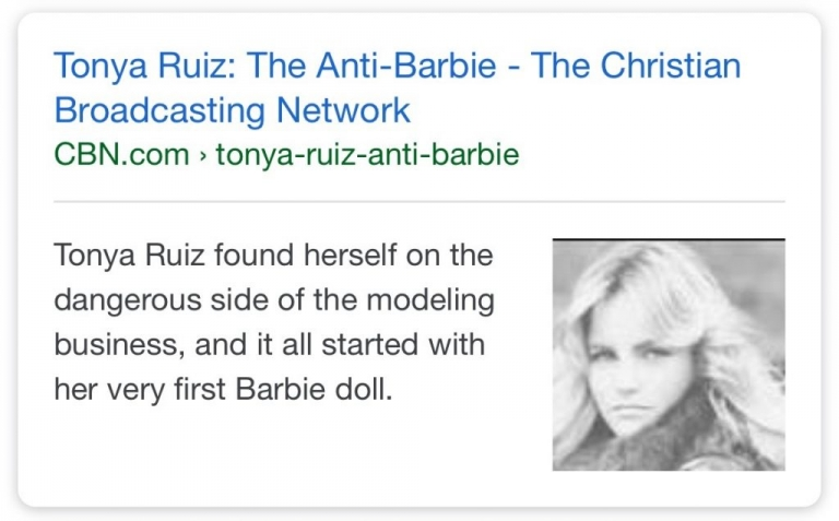 anti-barbie