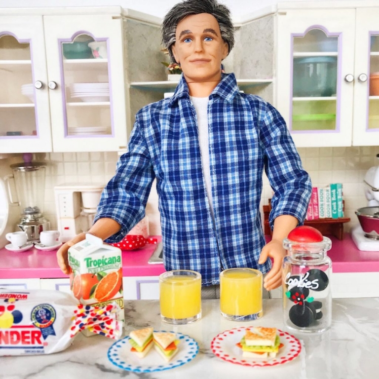 Barbie Grandma S Kitchen Photos Collections