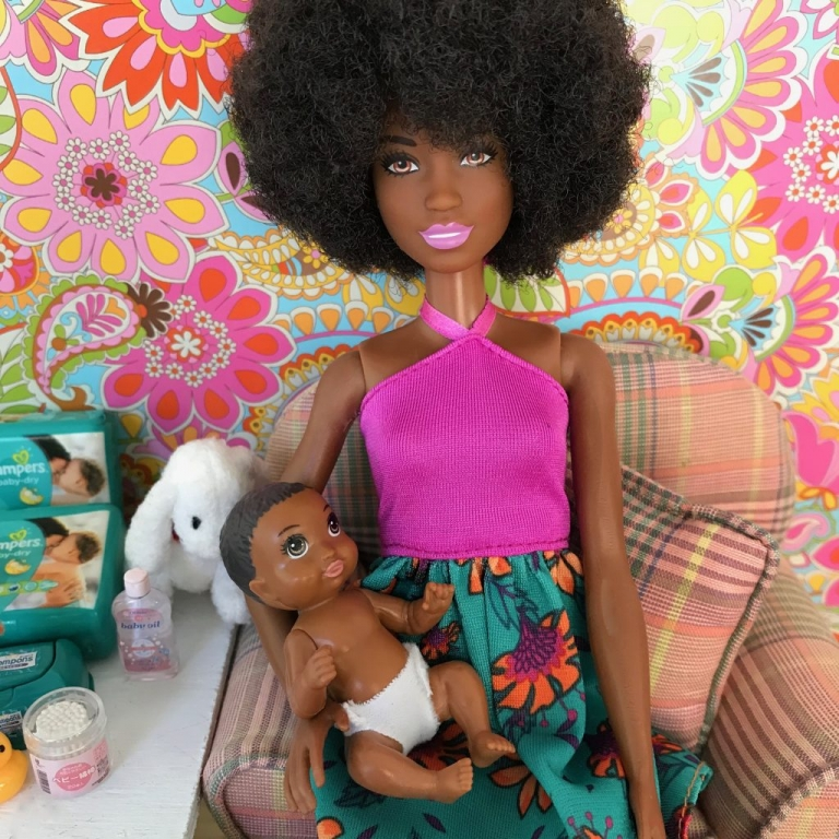 African American Barbie Baby