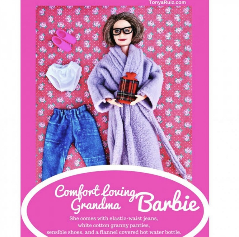Comfort Loving Grandma Barbie