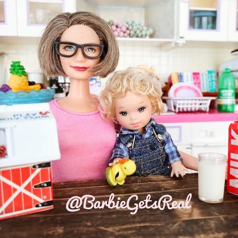 Grandma Barbie Fisher Price