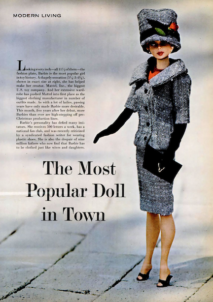 Life Magazine 1963 - The Most Popular Doll in Town