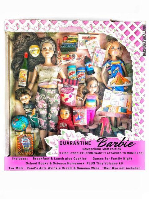 Quarantine Barbie Pandemic