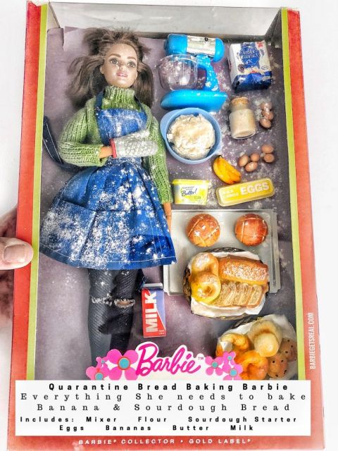 Quarantine Barbie