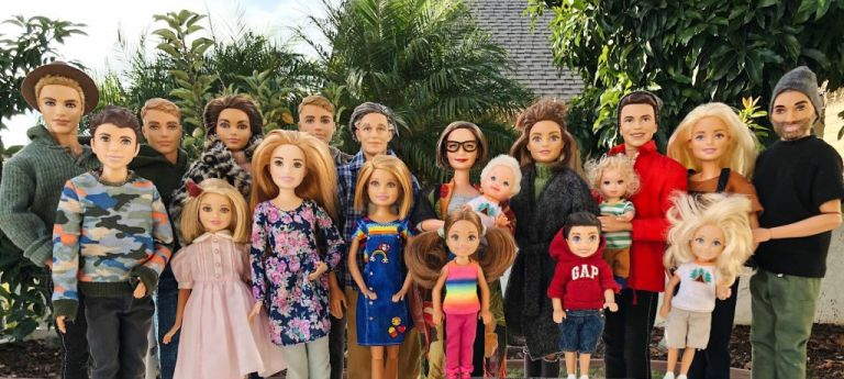 barbie gets real ruiz family