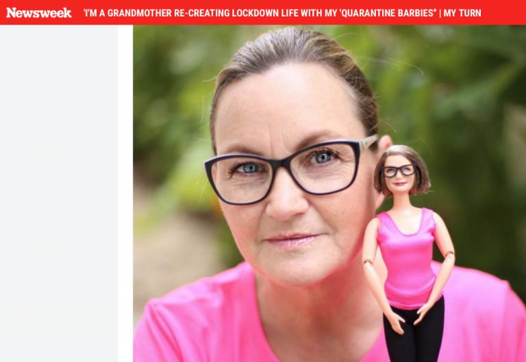 newsweek quarantine barbie tonya ruiz
