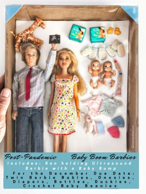 post pandemic Baby Boom Barbies