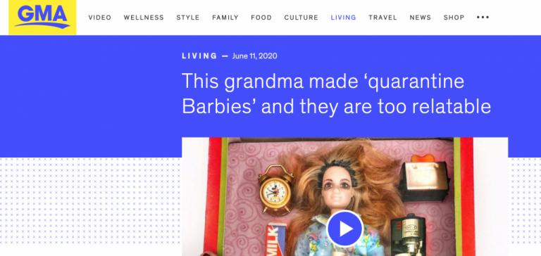 Good Morning America Quarantine Barbies