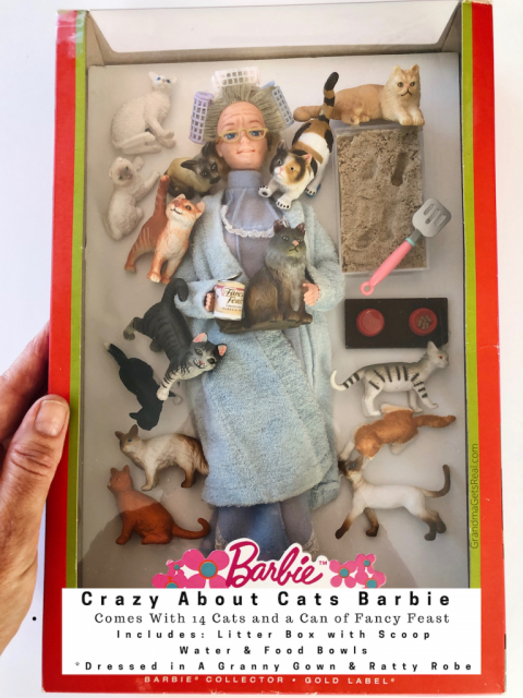 crazy about cats quarantine barbie