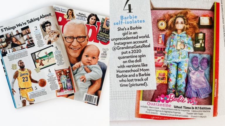people magazine quarantine barbies